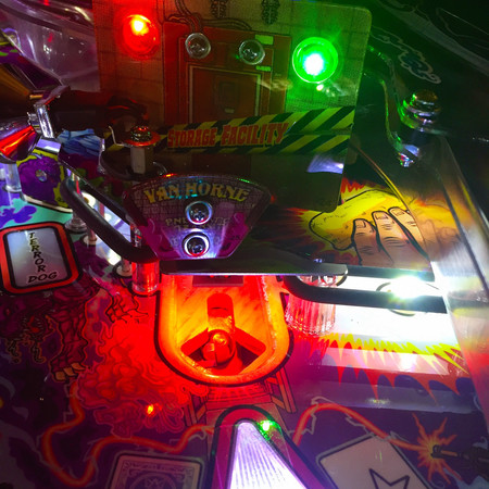 Ghostbusters Pinball Storage Facility Illumination