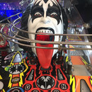 KISS Demon Head - beleuchteter Mund