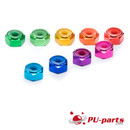 #6-32 Colored Anodized Lock Nut