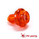 Flipper Knopf (Transparent) - 1-1/8 Schaft Transparent...