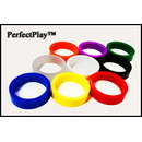 PerfectPlay Silicone Flipper Rubber - Standard Size Black