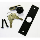 Williams/Bally Backbox Lock, Keys, & Lock Plate Assembly