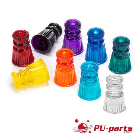 """Pinball Plastic Translucent Star Posts 1-1//16/"""" Tall"""