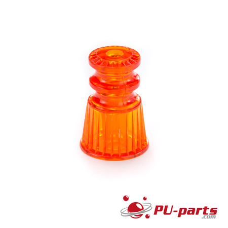03-8247 Doppel Star Post Transparent orange