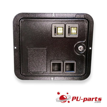 Stern Coin Door System Spike with 4-Button Service Assembly & Wiring Harness