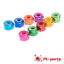 #8-32 Colored Anodized Lock Nut