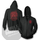 Tim Lee Double Danger Skull Kapuzenpullover