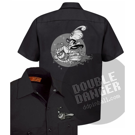 Shawn Dickinson Pinball Genie - Work Shirt L