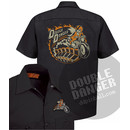 Brian Holderman Pinball Daredevil - Work Shirt L
