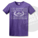 Electro Mechanical Vintage Collegiate T-Shirt XXL