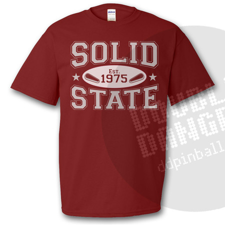 Solid State Vintage Collegiate T-Shirt M