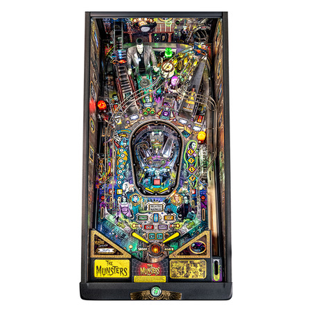 The Munsters Premium/LE Super-Rings Playfield Set